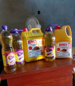 Kings and Mamador Vegetable Oil