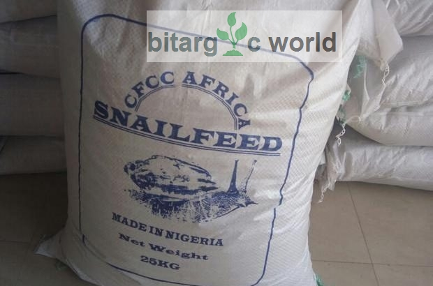 Snail Feed In Bags For Sale (Revised Formula)